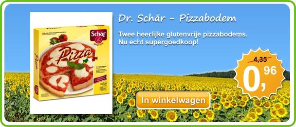Dr. Schär Pizzabodem - Nu van 4,35 voor slechts 0,96!