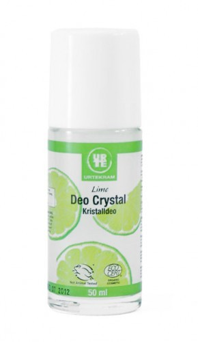 Deodorant crystal lime roller