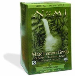 Groene thee Mate Lemon