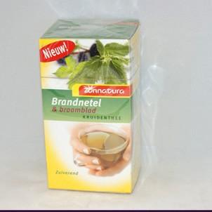 Brandnetel & braamblad thee