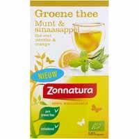 Groene Thee Munt Sinaasappel