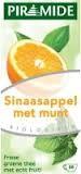 Fruitthee sinaasappel met munt