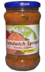 Sandwichspread groentemix