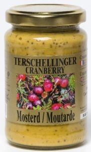 Mosterd cranberry