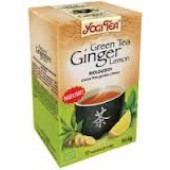 Green tea ginger lemon