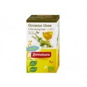 Groene thee & citroengras